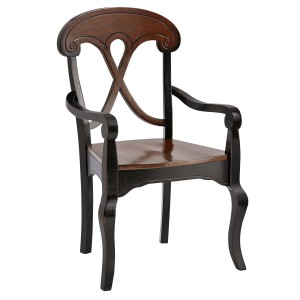 Marchella Armchair - Rubbed Black
