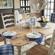 Amelia Natural Stonewash Dining Tables 2