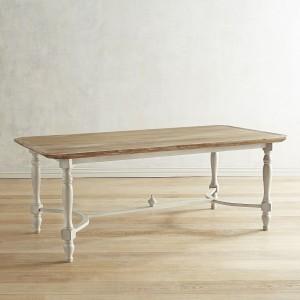 Amelia Natural Stonewash Dining Tables
