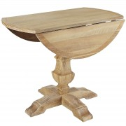 Bradding Natural Stonewash Round Dining Tables 3
