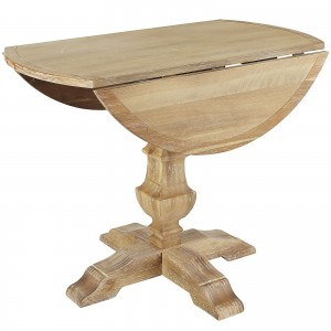 Bradding Natural Stonewash Round Dining Tables 3