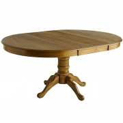 Extension Tobacco Brown Dining Table 2