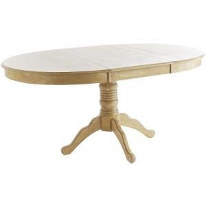 Extension Tobacco Brown Dining Table 5