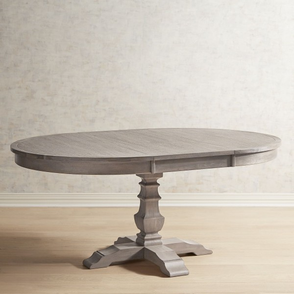Shadow Gray Extension Dining Table
