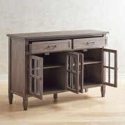 Shadow Gray Large Buffet Table 1