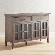 Shadow Gray Large Buffet Table